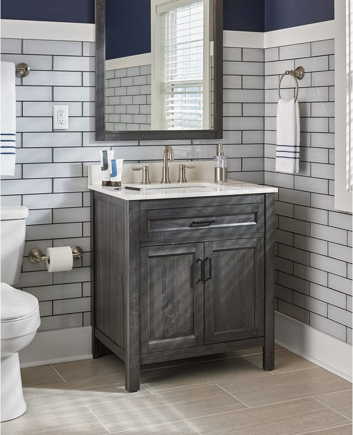 Best ideas about Bathroom Vanities Cheap . Save or Pin The 25 best Cheap bathroom vanities ideas on Pinterest Now.