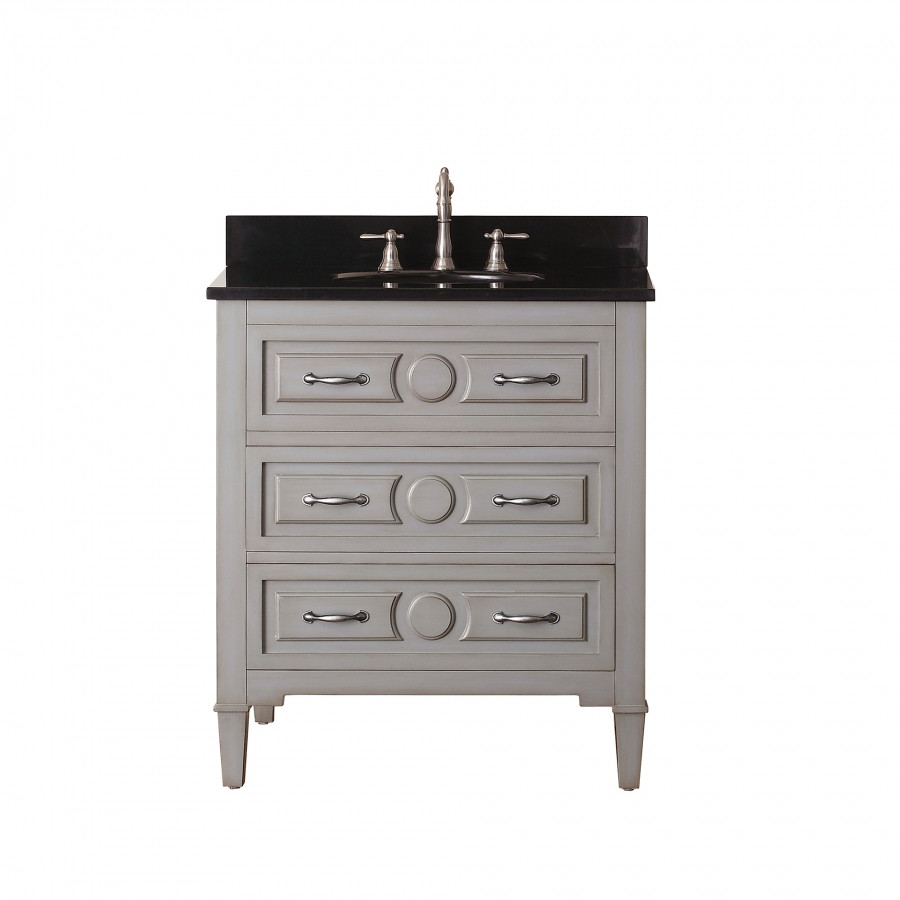 Best ideas about Bathroom Vanity 30 Inch . Save or Pin 30 Inch Single Sink Bathroom Vanity in Grayish Blue Now.