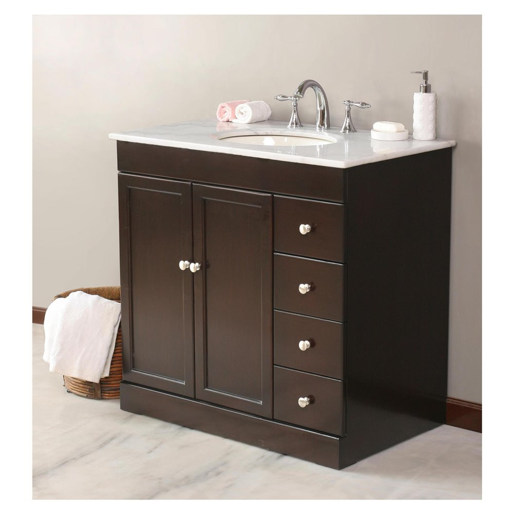 Best ideas about Bathroom Vanity 30 Inch . Save or Pin 30 Inch Bathroom Vanity For a Small Space — Burlap & Honey Now.