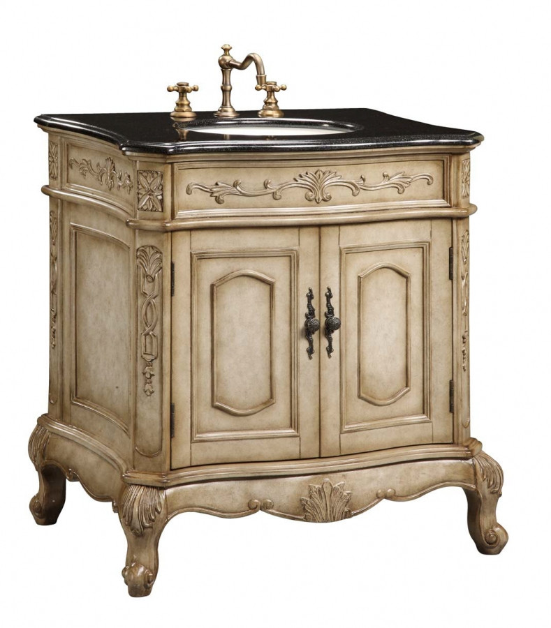 Best ideas about Bathroom Vanity 30 Inch . Save or Pin 30 Inch Single Sink Furniture Style Bathroom Vanity with Now.