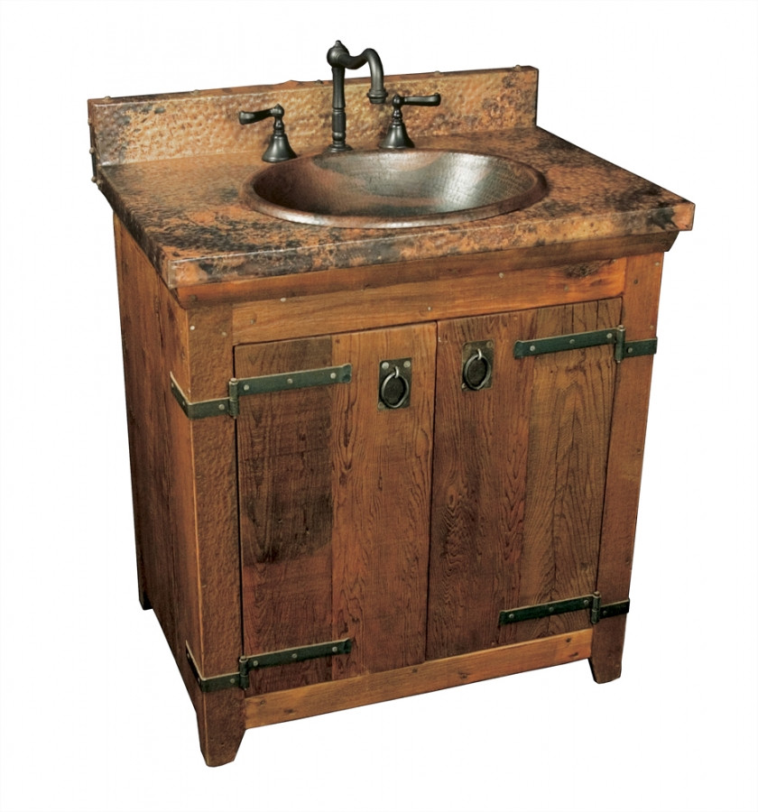 Best ideas about Bathroom Vanity 30 Inch . Save or Pin 30 Inch Single Sink Bath Vanity with Copper Top UVNTVNB Now.