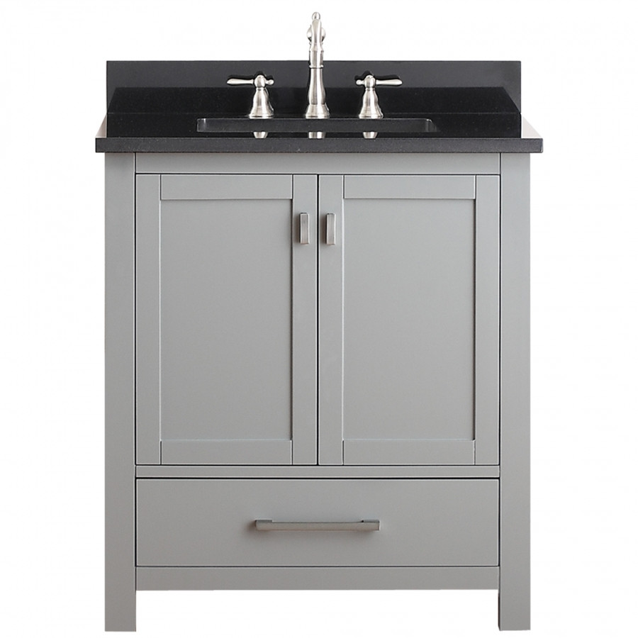 Best ideas about Bathroom Vanity 30 Inch . Save or Pin 30 Inch Single Sink Bathroom Vanity in Chilled Gray Now.