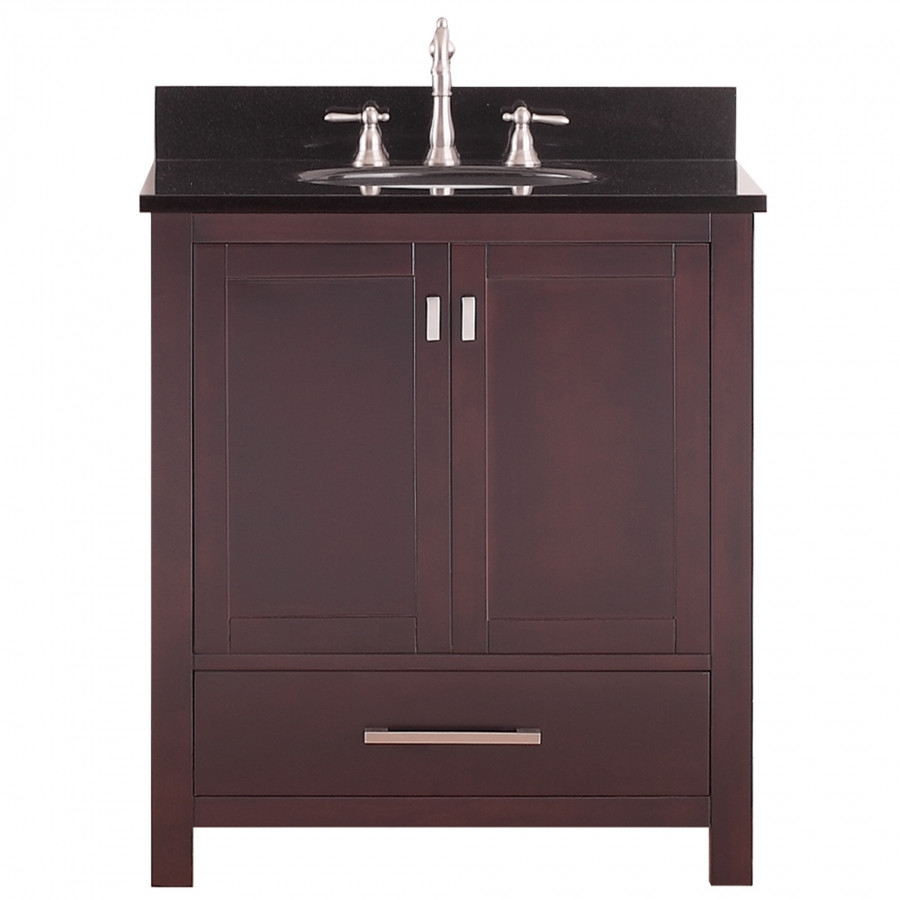 Best ideas about Bathroom Vanity 30 Inch . Save or Pin 30 Inch Single Sink Bathroom Vanity in Espresso Now.