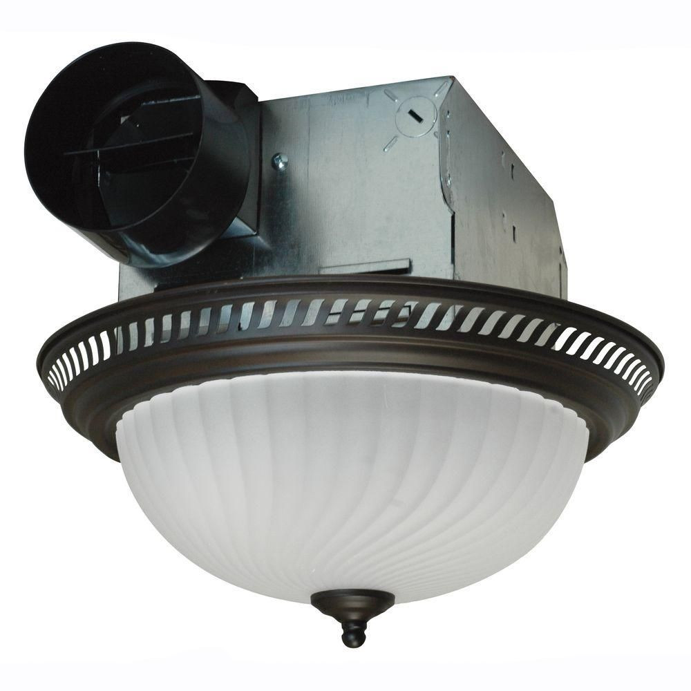 Best ideas about Bathroom Vent Fan With Light . Save or Pin Ceiling Exhaust Fan Light Mount Bathroom Ventilation Bath Now.