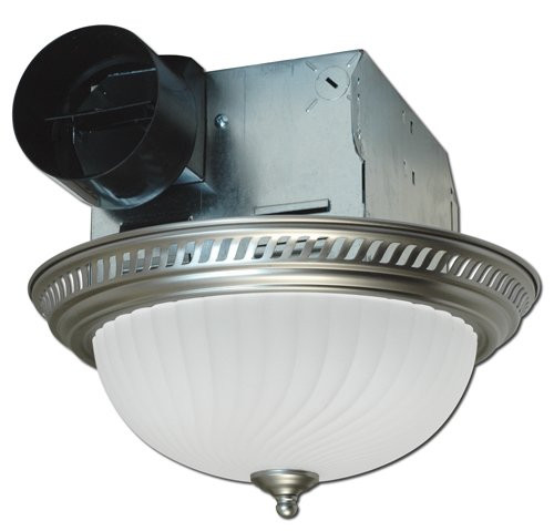 Best ideas about Bathroom Vent Fan With Light . Save or Pin Quiet Round Bath Fan Bathroom Shower Exhaust Ventilation Now.