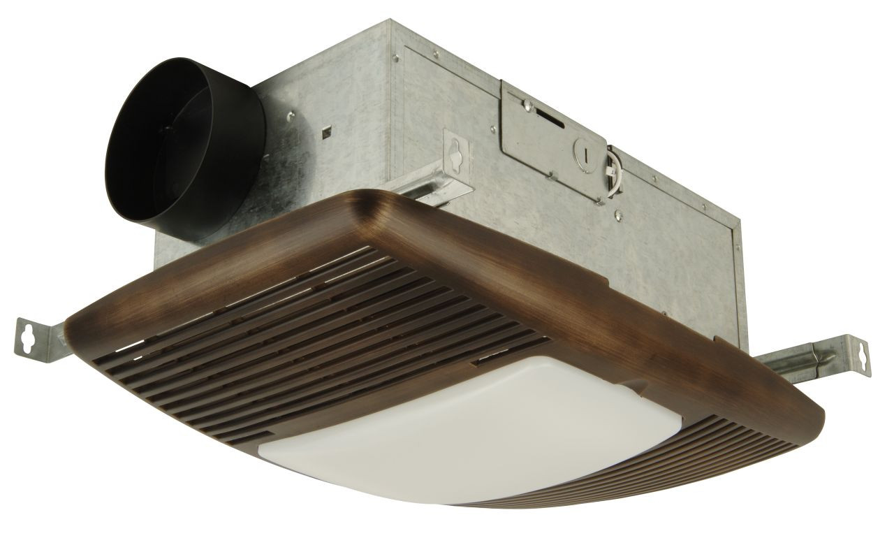 Best ideas about Bathroom Vent Fan With Light . Save or Pin Craftmade TFV70HL1500 BZ Bronze 70 CFM Bath Vent Heater Now.