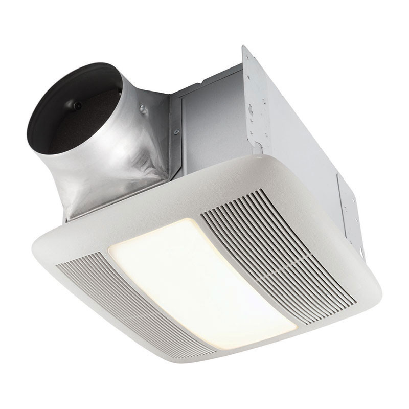 Best ideas about Bathroom Vent Fan With Light . Save or Pin QT140LE Broan QT Light Series Now.