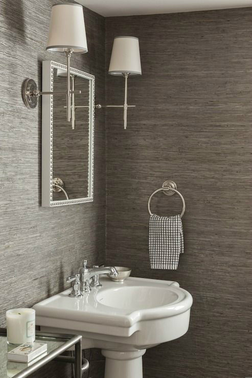 Best ideas about Bathroom Wall Paper . Save or Pin 28 Powder Room Ideas Decoholic Now.