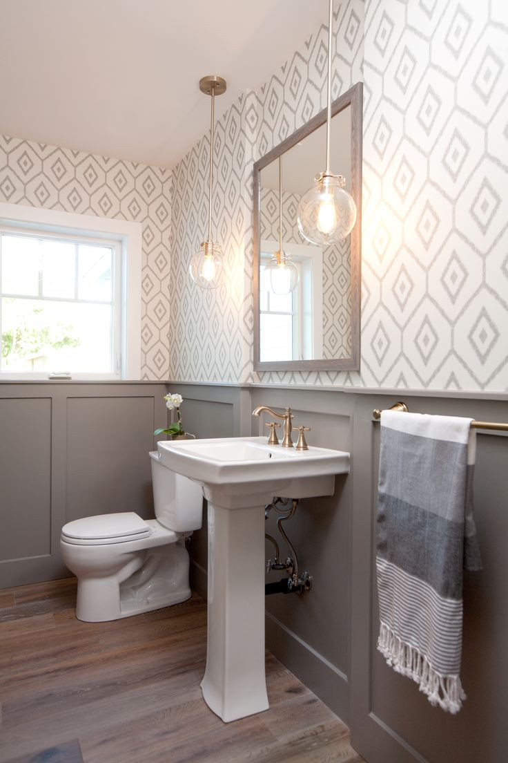 Best ideas about Bathroom Wall Paper . Save or Pin 30 Gorgeous Wallpapered Bathrooms Now.