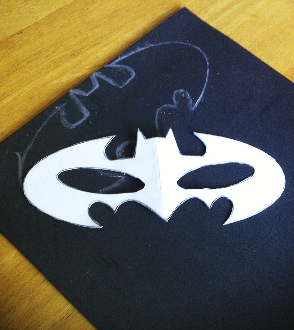 Best ideas about Batman Mask DIY . Save or Pin DIY No Sew Batman Batgirl Costume Now.