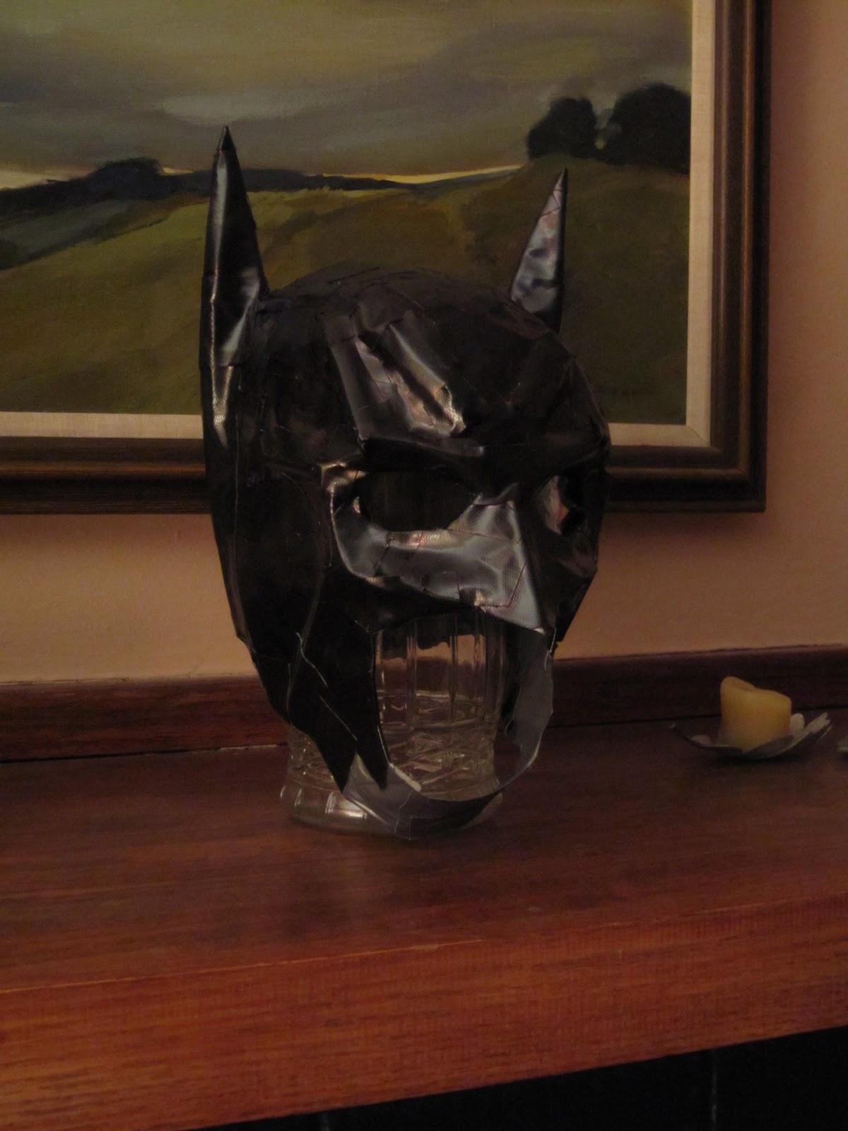 Best ideas about Batman Mask DIY . Save or Pin Chuck Does Art DIY Batman Costume Now.