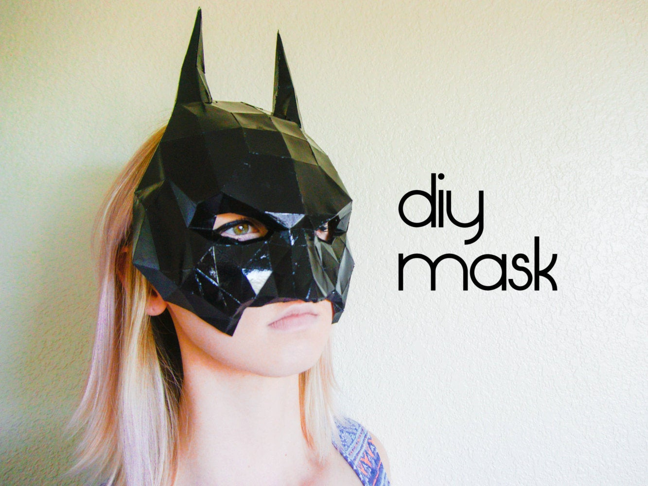 Best ideas about Batman Mask DIY . Save or Pin Batman Mask Make your own with a PDF Download batman Now.
