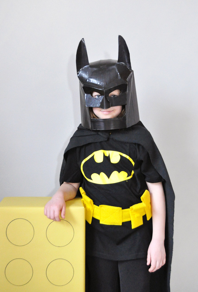 Best ideas about Batman Mask DIY . Save or Pin DIY LEGO Batman Mask ⋆ Handmade Charlotte Now.