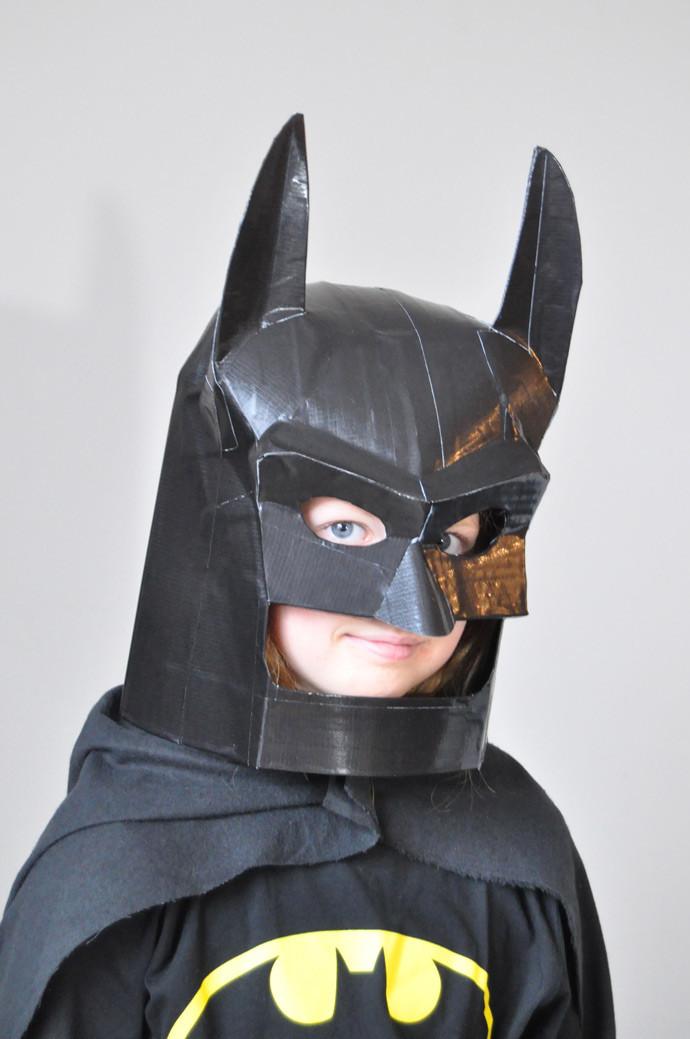 Best ideas about Batman Mask DIY . Save or Pin DIY LEGO Batman Mask Now.
