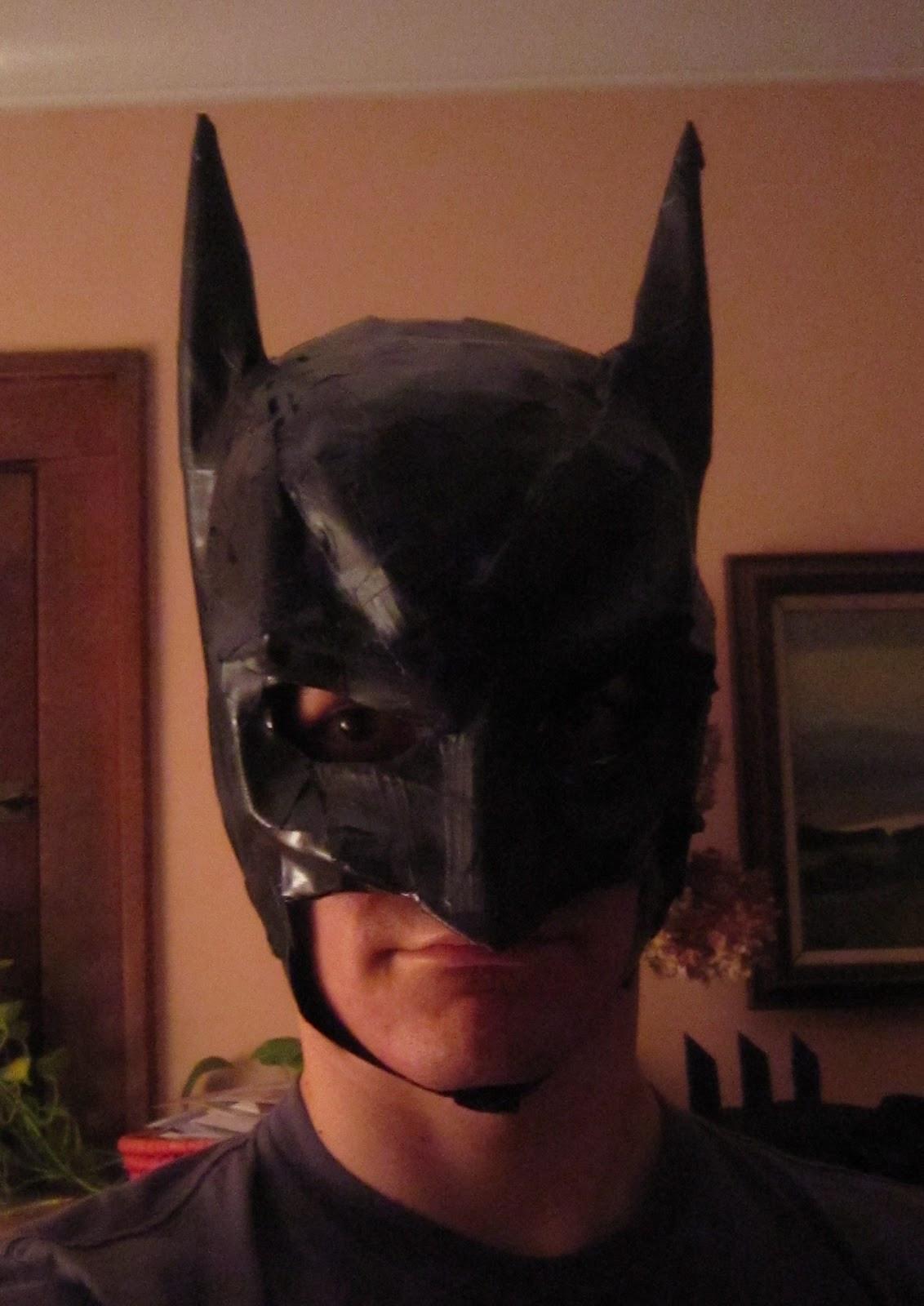 Best ideas about Batman Mask DIY . Save or Pin Chuck Does Art DIY Batman Costume Mask Part II Now.