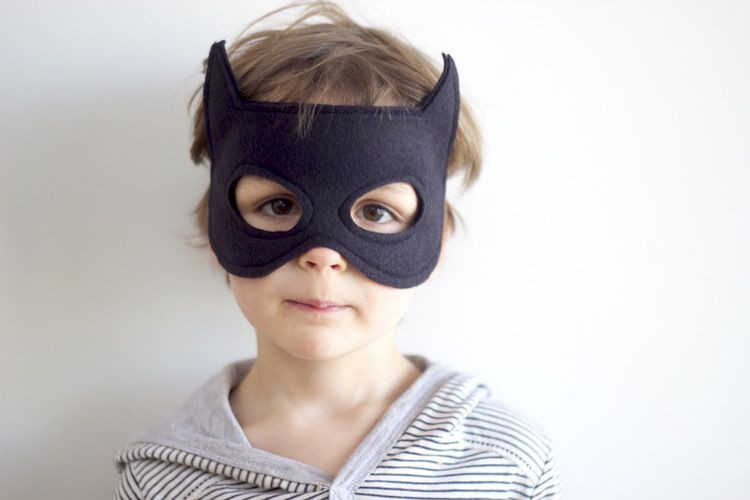 Best ideas about Batman Mask DIY . Save or Pin A Free Batman Mask Pattern for you Now.