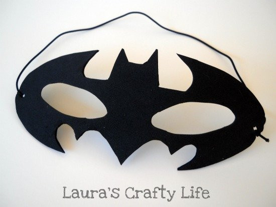 Best ideas about Batman Mask DIY . Save or Pin How To Batman Mask Laura s Crafty Life Now.