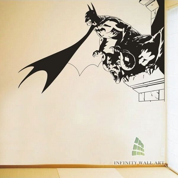 Best ideas about Batman Wall Art . Save or Pin Top Design Batman Wall Art Stickers Batman Wall Decor Now.