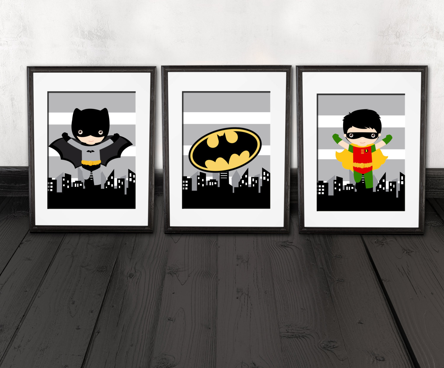 Best ideas about Batman Wall Art . Save or Pin Batman wall art set of 3 PRINTS brother quote robin wall Now.