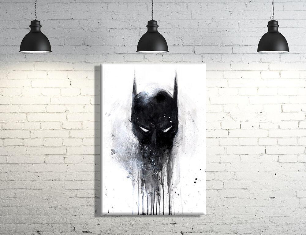Best ideas about Batman Wall Art . Save or Pin Batman framed Canvas Wall Art Now.