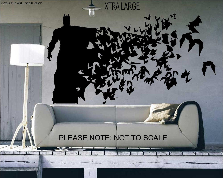 Best ideas about Batman Wall Art . Save or Pin Batman Xtra Size Wall Decal Wall art Sticker Now.