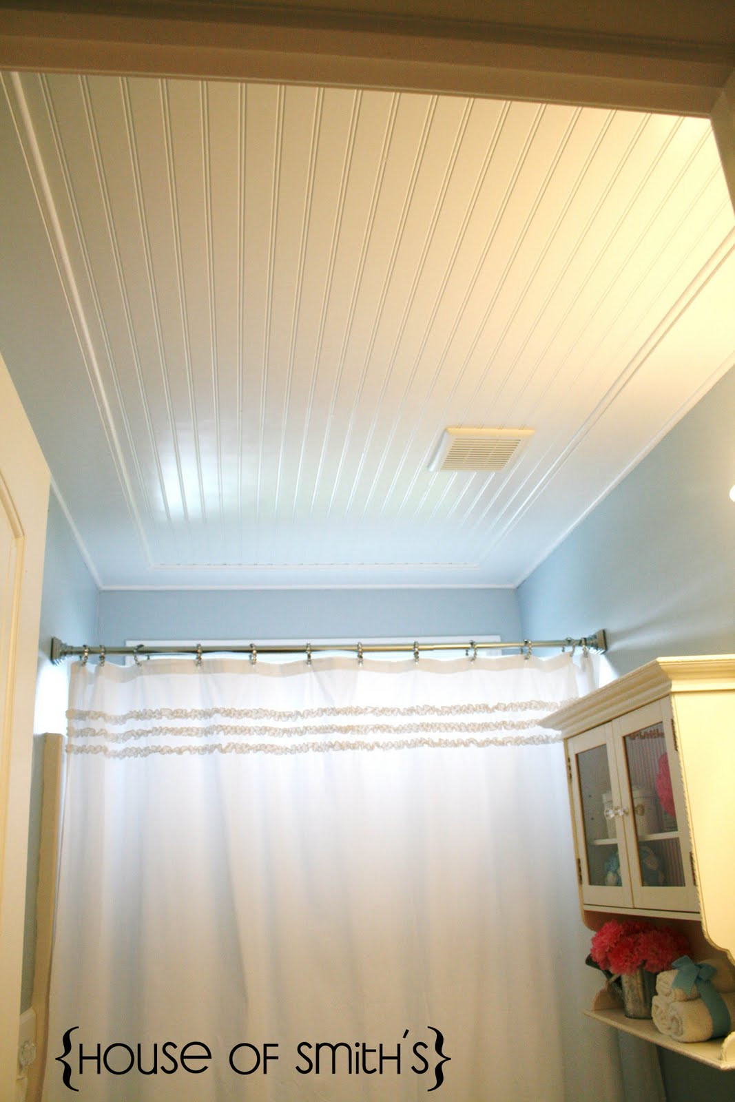 Best ideas about Beadboard For Bathroom . Save or Pin Beadboard Ceiling in Bathroom Now.