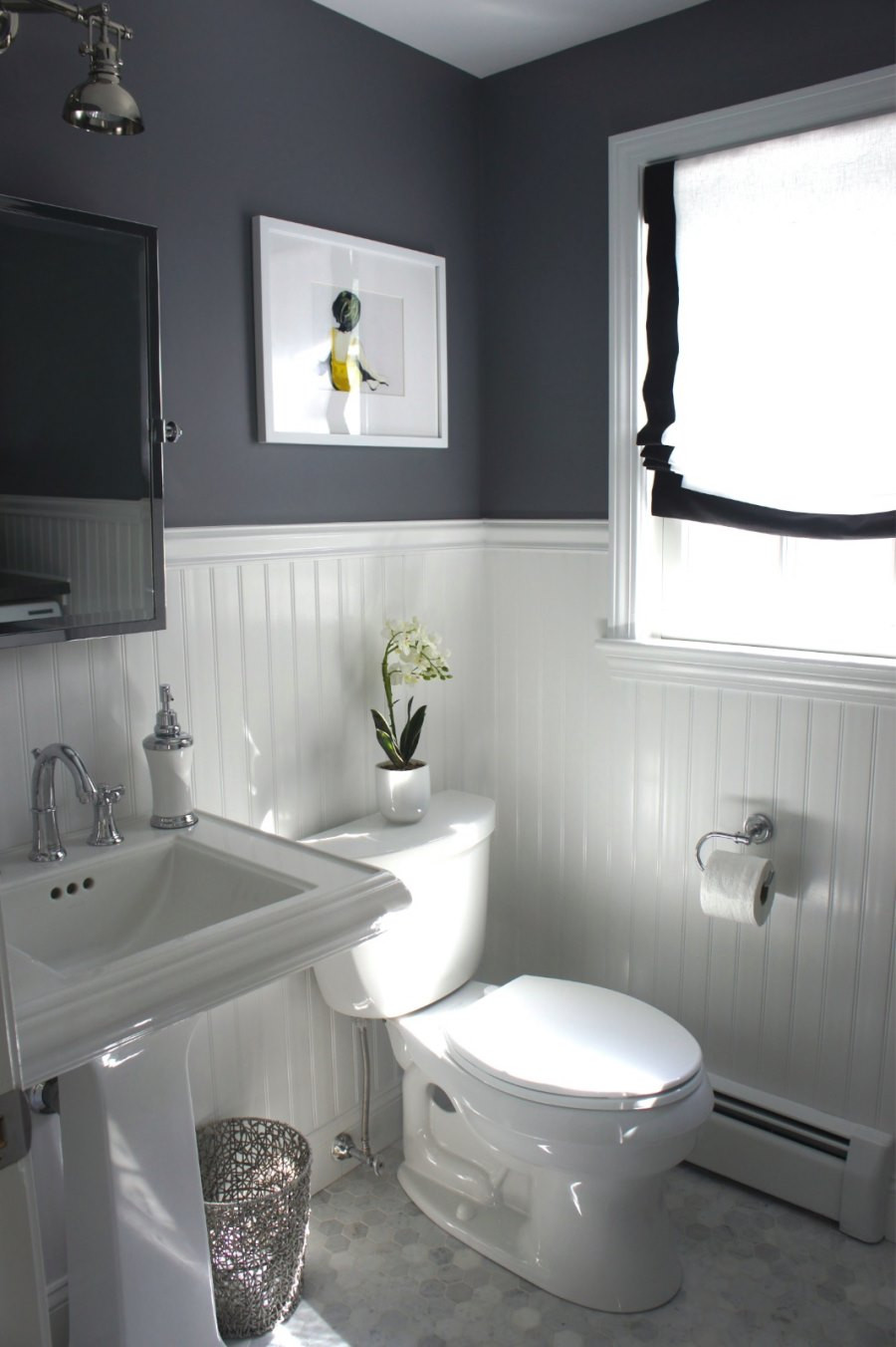 Best ideas about Beadboard In Bathroom . Save or Pin 10 Rooms Featuring Beadboard Paneling Now.