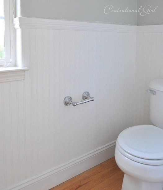 Best ideas about Beadboard In Bathroom . Save or Pin Installing Beadboard Wallpaper Now.