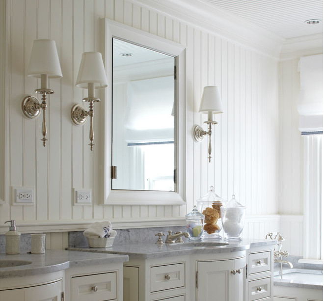 Best ideas about Beadboard In Bathroom . Save or Pin 15 Beadboard Backsplash Ideas for the Kitchen Bathroom Now.