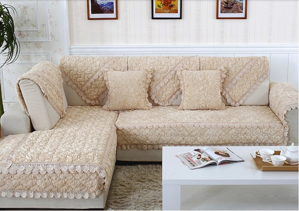 Best ideas about Bed Bath And Beyond Sofa Covers . Save or Pin L Shaped Sofa Covers With Separate Cushion Covers ALL Now.