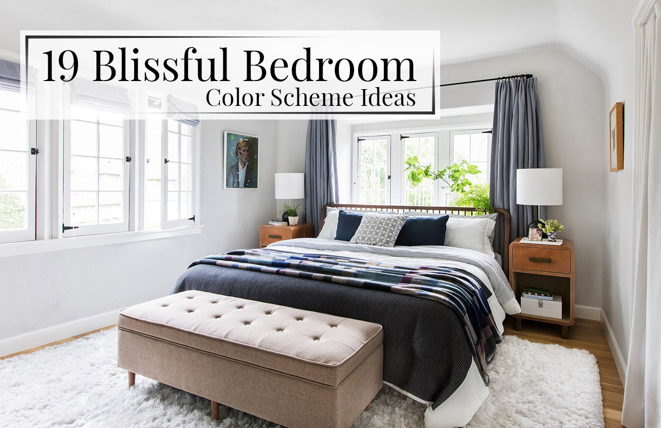 Best ideas about Bedroom Color Schemes . Save or Pin 19 Blissful Bedroom Color Scheme Ideas The LuxPad Now.