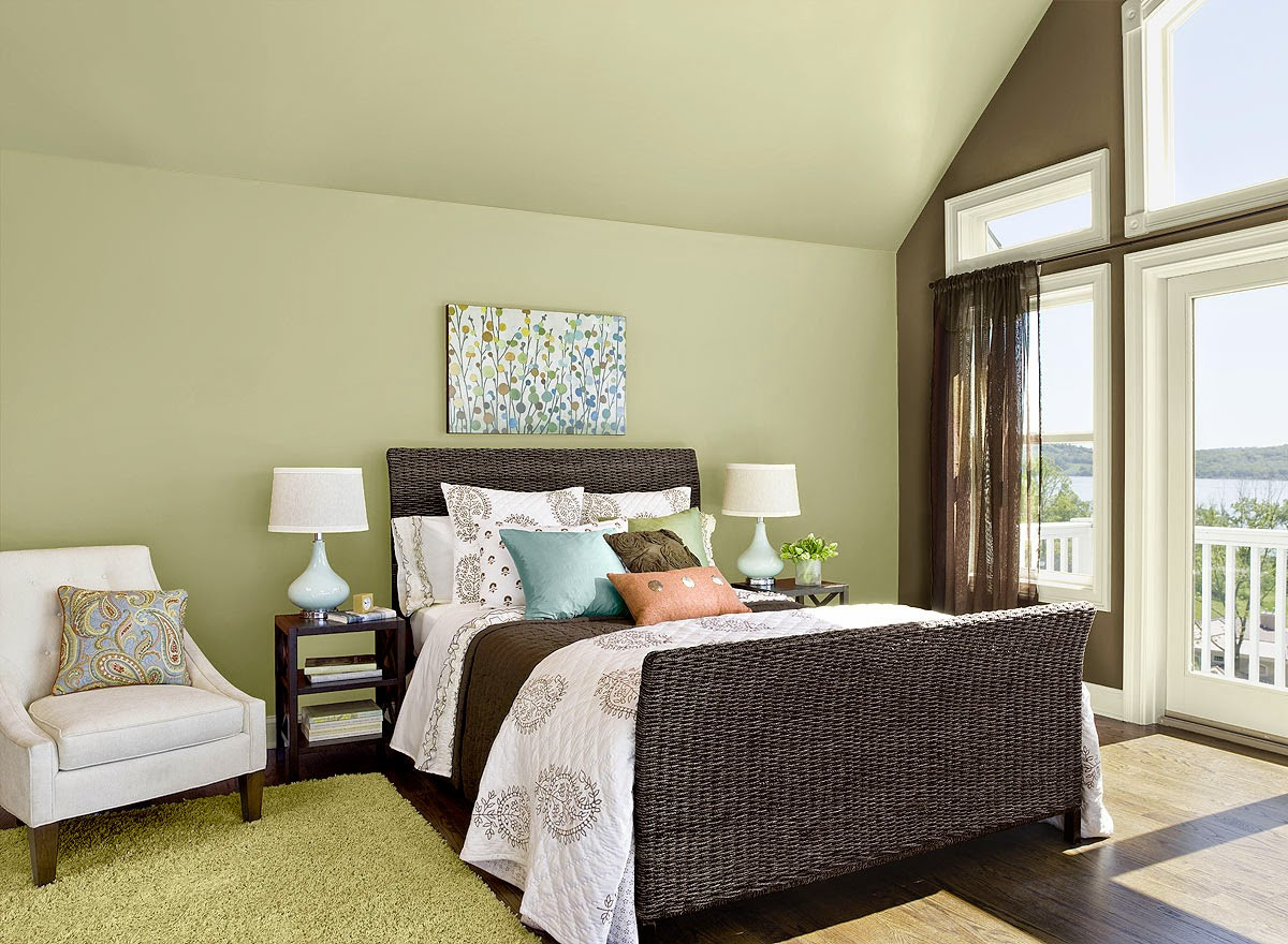 Best ideas about Bedroom Color Schemes . Save or Pin 2015 Color of the Year Guilford Green Now.