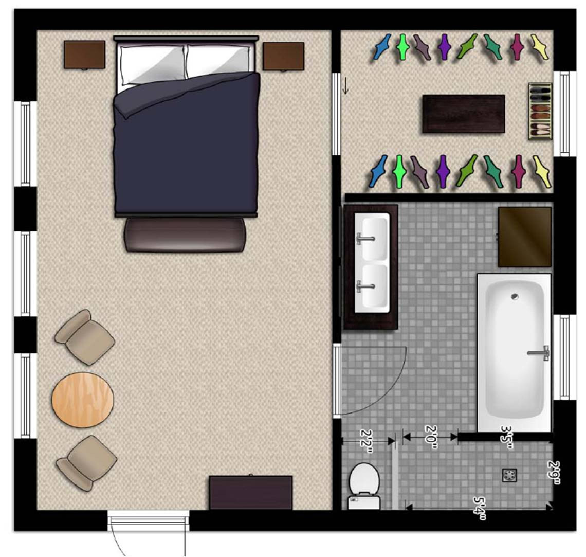 Best ideas about Bedroom Floor Plan . Save or Pin Tips on how to renovate build or a perfect home Part Now.