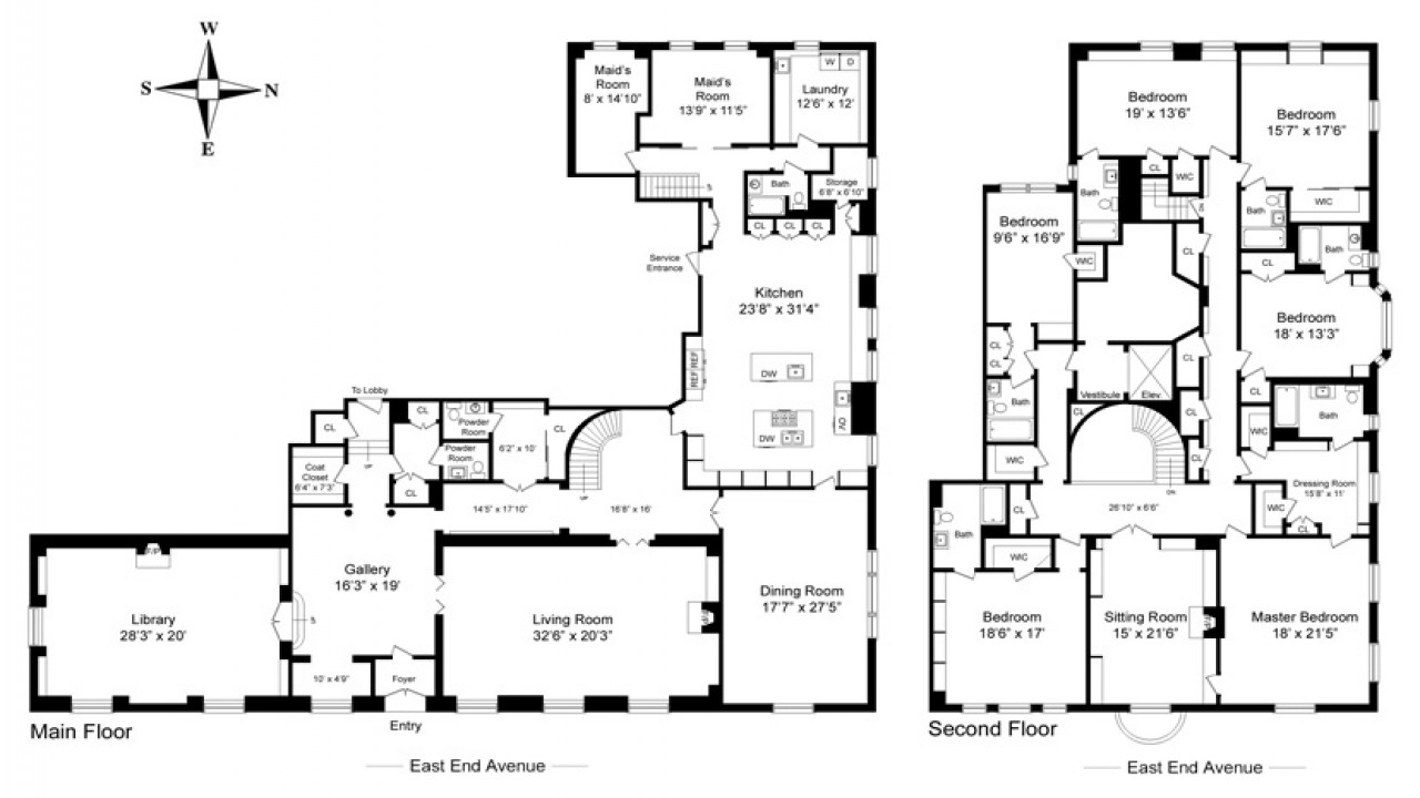 Best ideas about Bedroom Floor Plan . Save or Pin Castle House Plans Mansion House Plans 8 Bedrooms 8 Now.