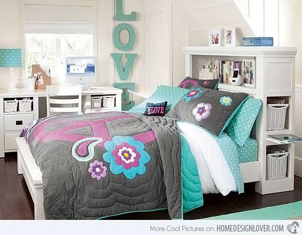 Best ideas about Bedroom Ideas For Teenage Girls . Save or Pin 20 Stylish Teenage Girls Bedroom Ideas Decoration for House Now.