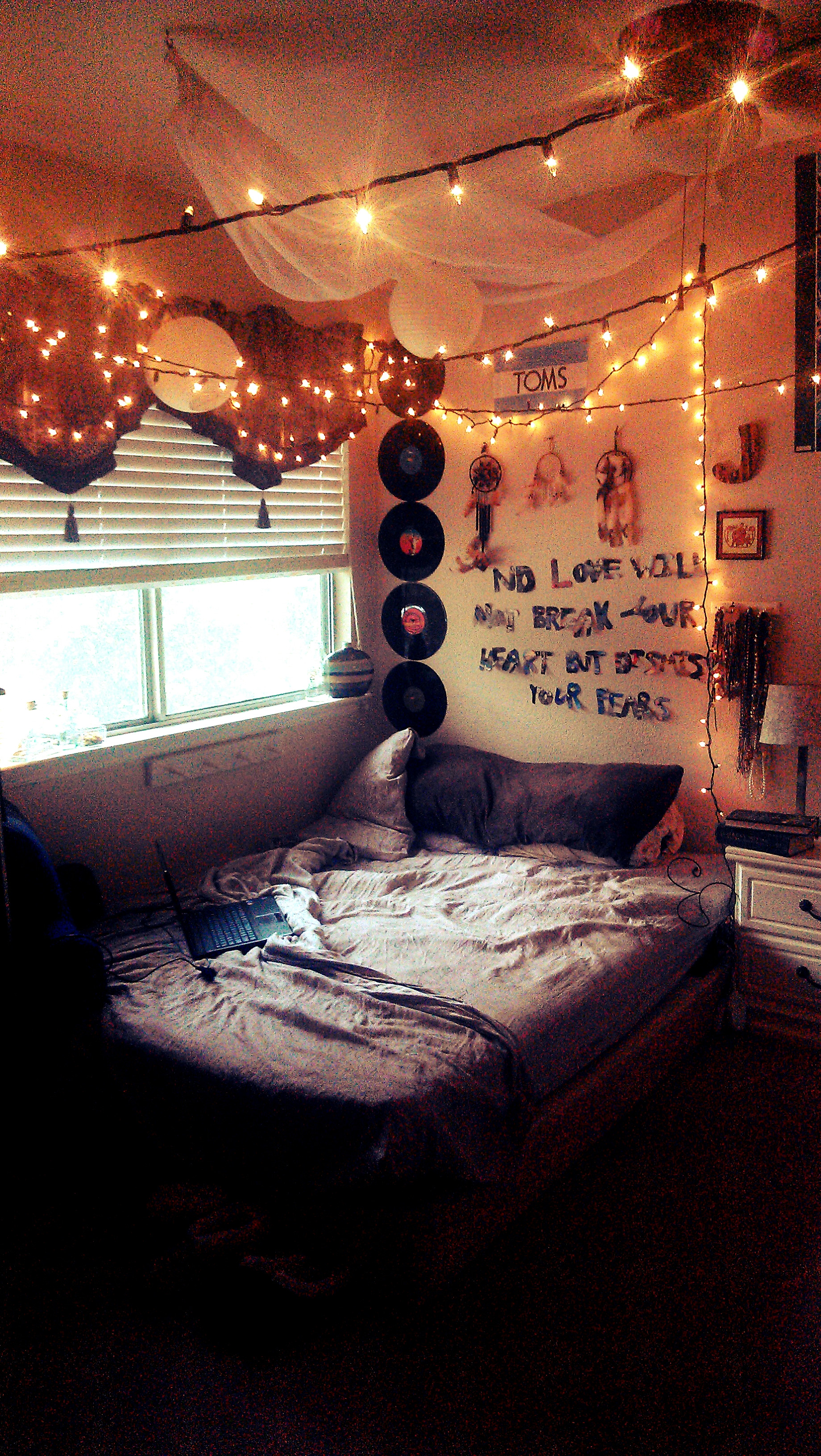 Best ideas about Bedroom Ideas Tumblr . Save or Pin Boho Chic Teen Bedroom Now.