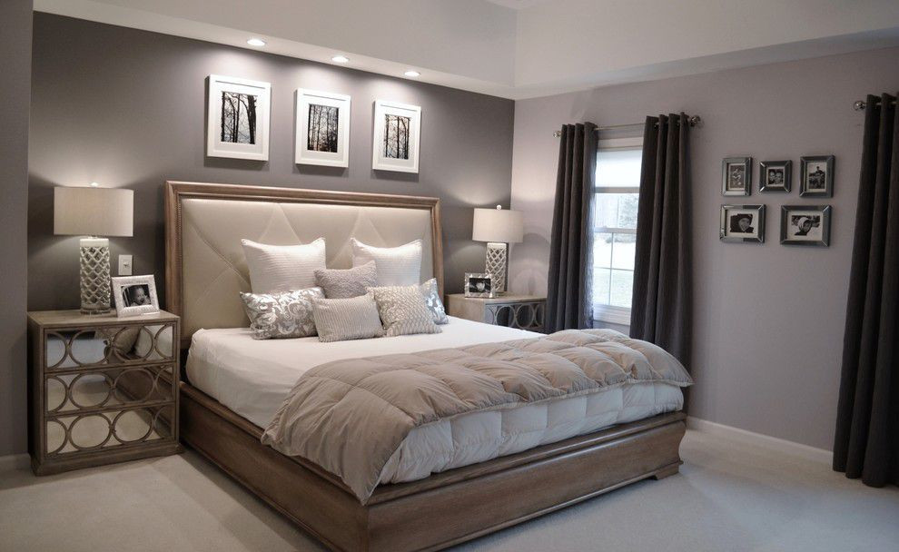 Best ideas about Bedroom Paint Color Ideas . Save or Pin Ben Moore Violet Pearl Modern Master Bedroom Paint Now.