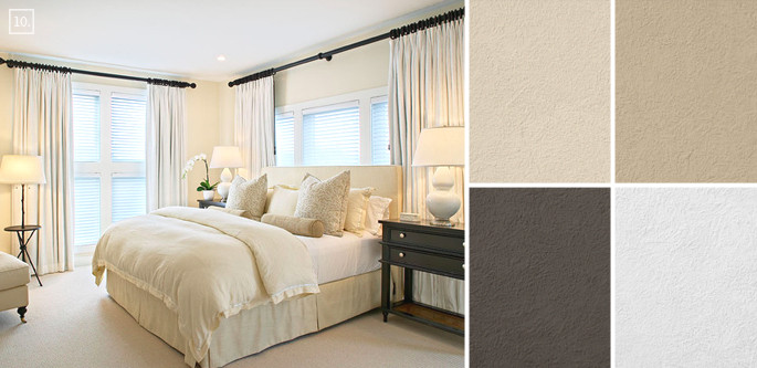 Best ideas about Bedroom Paint Color Ideas . Save or Pin Bedroom Color Ideas Paint Schemes and Palette Mood Board Now.