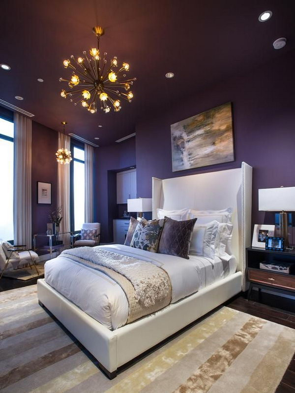 Best ideas about Bedroom Paint Color Ideas . Save or Pin 45 Beautiful Paint Color Ideas for Master Bedroom Hative Now.