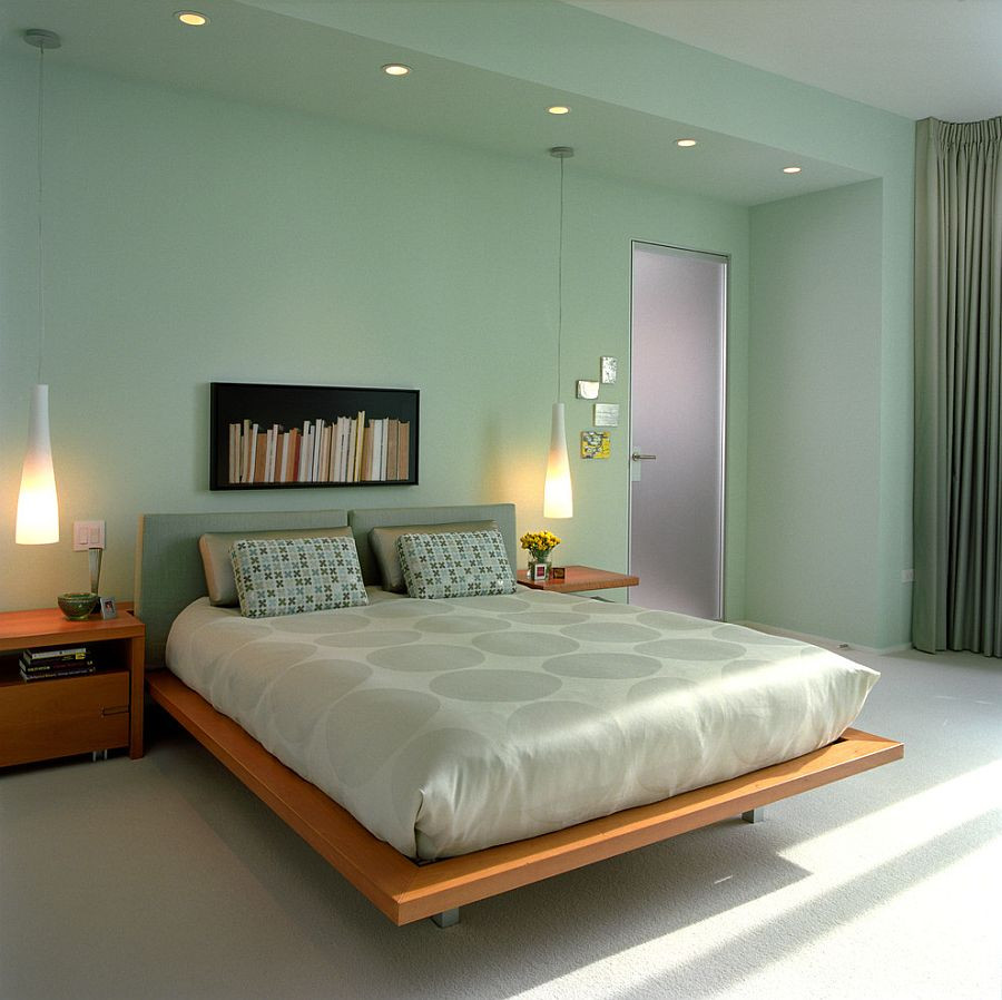 Best ideas about Bedroom Paint Color Ideas . Save or Pin 25 Chic and Serene Green Bedroom Ideas Now.