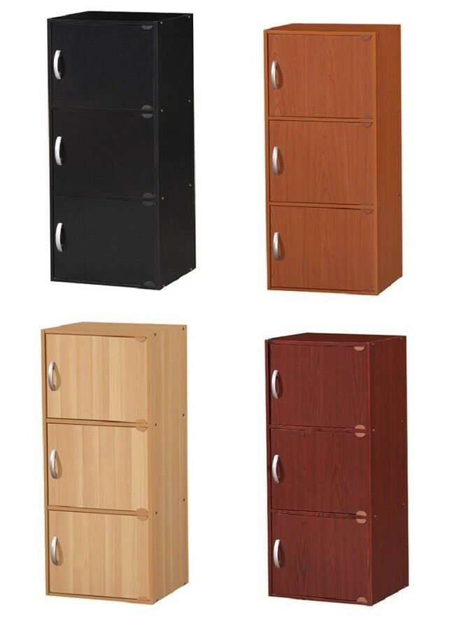 Best ideas about Bedroom Storage Cabinets . Save or Pin 3 Door Storage Cabinet Kitchen Bedroom Living Room Home Now.