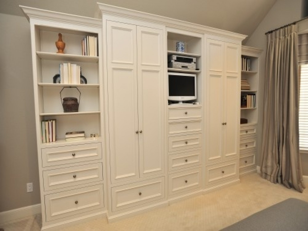 Best ideas about Bedroom Storage Cabinets . Save or Pin Cabinets for bedrooms bedroom wall units with drawers Now.