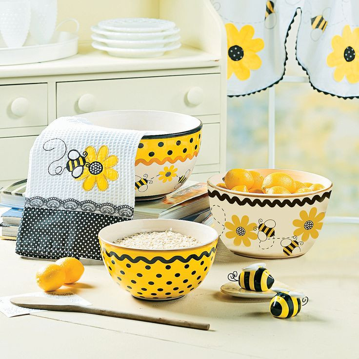 Best ideas about Bee Kitchen Decor . Save or Pin Bee Decorator for Kitchen Summer Pinterest Now.