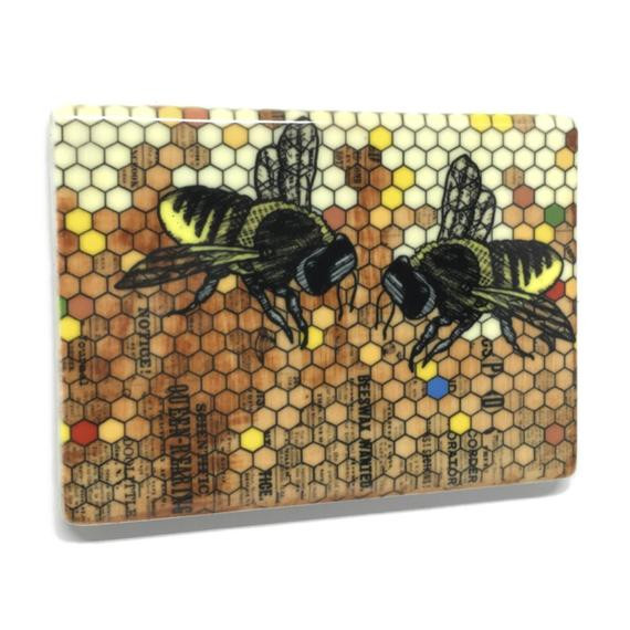 Best ideas about Bee Kitchen Decor . Save or Pin Honey Bee Fridge Magnet Bee Kitchen Decor by Now.