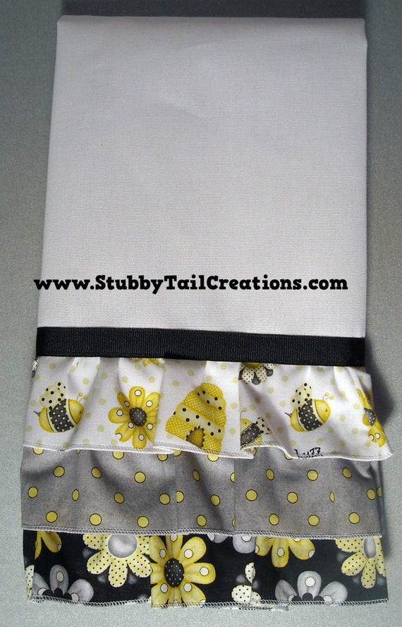 Best ideas about Bee Kitchen Decor . Save or Pin Bumble Bee Kitchen TowelsSet of 2LINT FREE Now.