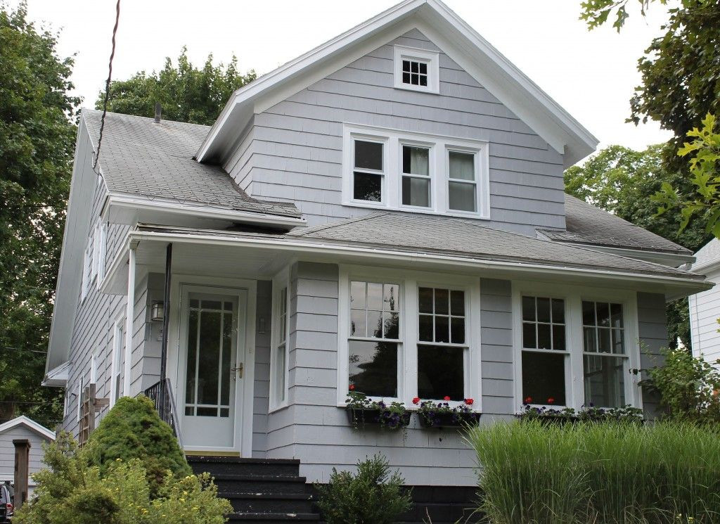 Best ideas about Behr Exterior Paint Colors . Save or Pin Behr Sparrow our new exterior house color Now.
