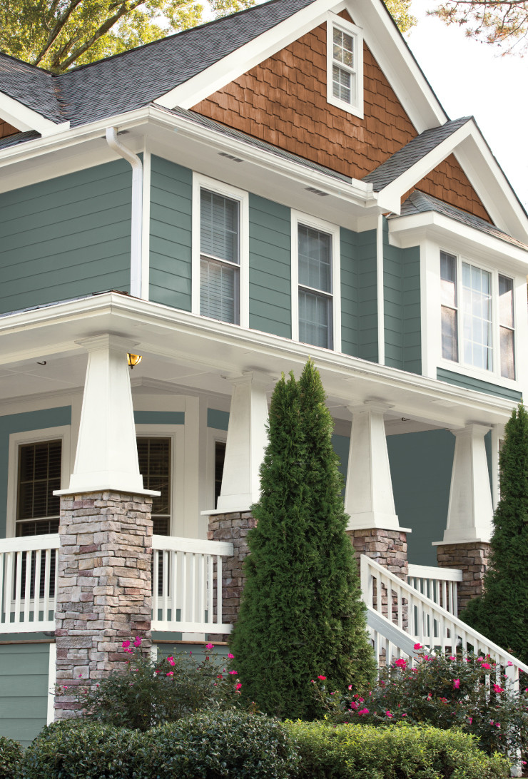 Best ideas about Behr Exterior Paint Colors . Save or Pin Colorfully BEHR COLOR OF THE YEAR IN THE MOMENT Now.