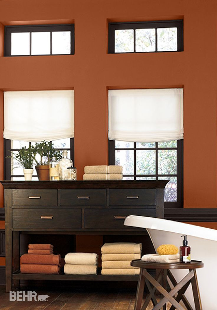 Best ideas about Behr Interior Paint Colors . Save or Pin Best 25 Burnt orange paint ideas on Pinterest Now.