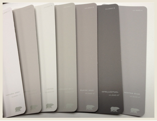 Best ideas about Behr Paint Colors Gray . Save or Pin Colorfully BEHR Perfect Shades of Gray Now.