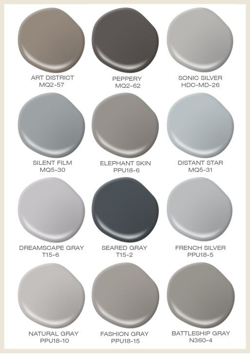 Best ideas about Behr Paint Colors Gray . Save or Pin Gray can be anything but boring Take a look at our Now.